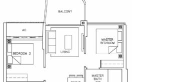 coastline-residences-2-bedroom-floor-plan-b1-singapore