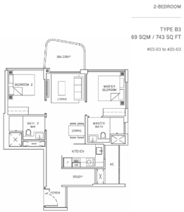 coastline-residences-2-bedroom-floor-plan-b3-singapore